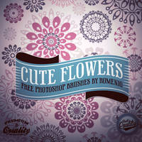 Cute Flowers Free Bsrus Set by Romenig
