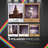 Free Polaroid Frames Psd by Romenig