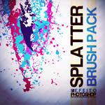Splatter Free Brush Set