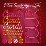 4 Free Candy layer Styles