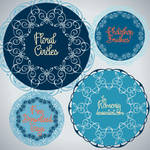 Free Floral Circles Brushes