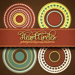 Lovely Hearts Circles Free Brushes