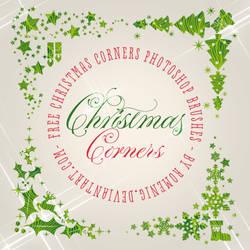 Christmas Corners Brushes