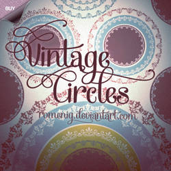 Vintage Circles Premium Brushes