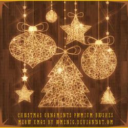 Christmas Ornaments Premium Brushes