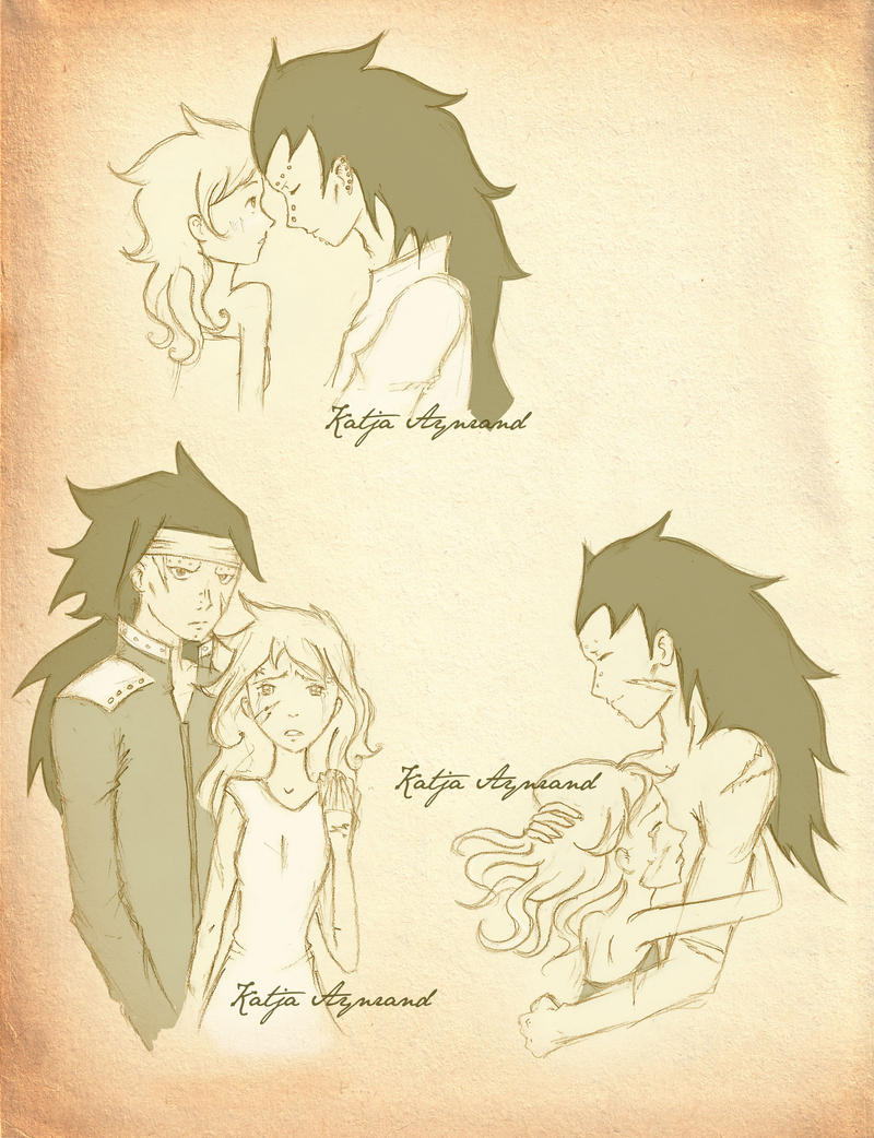 gajeel and levy doujinshi future gajeel and levy by