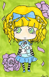 Alice Chibi - Card Art by Limalein
