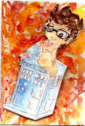 Doctor WHO Pop-up Card by Limalein