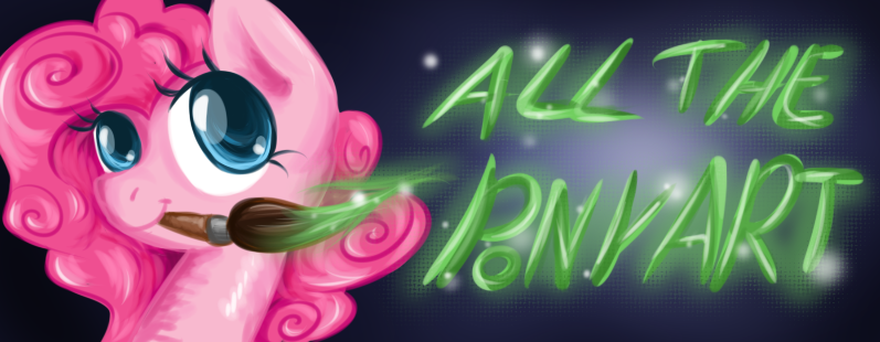 All The Pony Art by Keep-Yourself-Alive