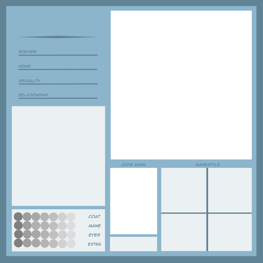 blank reference sheet template