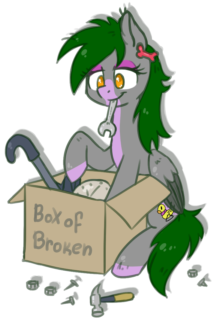 Fixing is fun (commission) by KYAokay