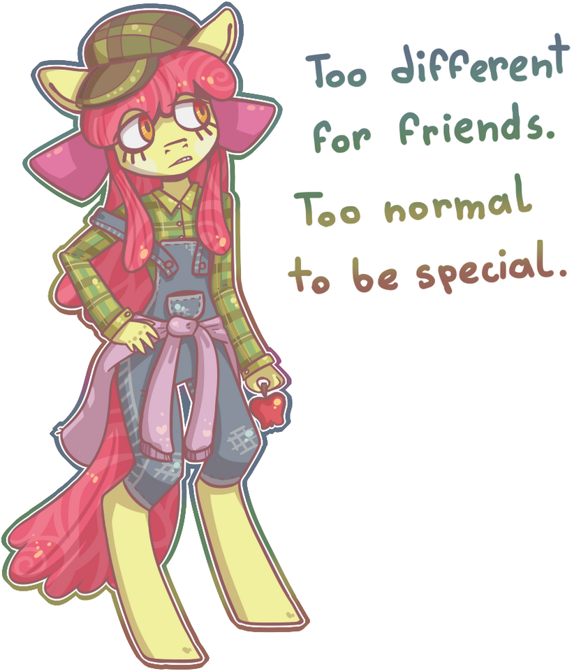 You can never have it all, kid by Reporter-Derpy