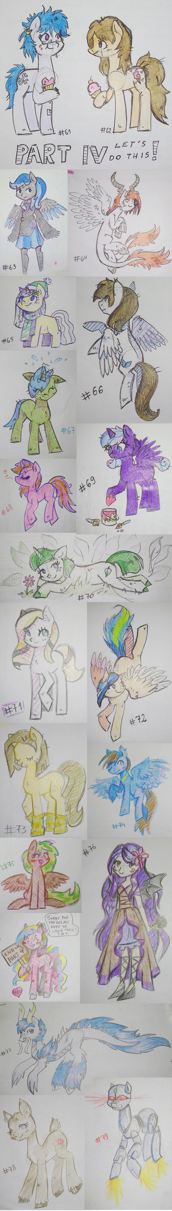 100 free traditional doodles 4/5 by KYAokay