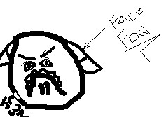 Face Fail by Kittymuffins98