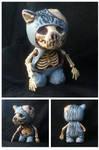 Cat Skeleton toy
