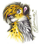 Cheetah says HI