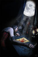 The unwritten Letter by MADmoiselleMeli