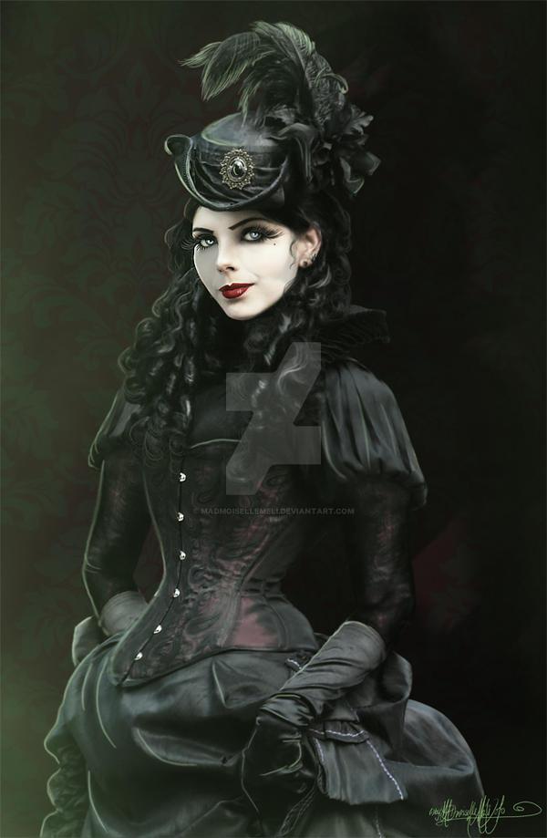 lady vampiremadmoisellemeli on deviantart