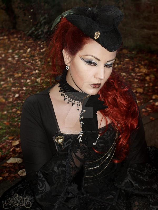 Dark Rococo Dreams IV by MADmoiselleMeli