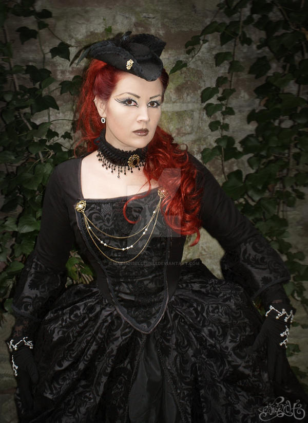 Dark Rococo Dreams V by MADmoiselleMeli