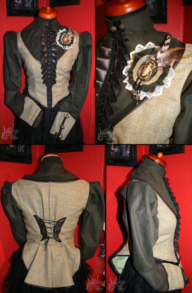 Steampunk Jacket by MADmoiselleMeli