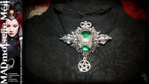 Witch Absinthia Brooch