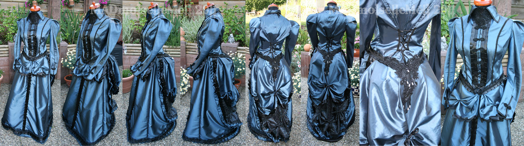 WGT 2011 Bustle Gown by MADmoiselleMeli