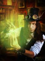 Erik the Explorer of the Absinthfairy by MADmoiselleMeli