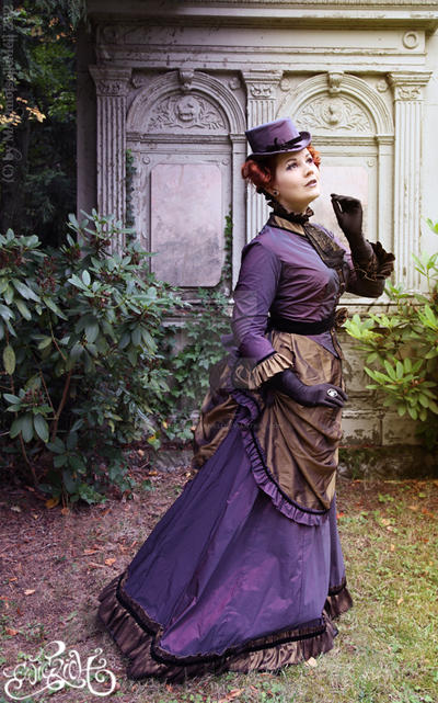 Victorian Lady II by MADmoiselleMeli