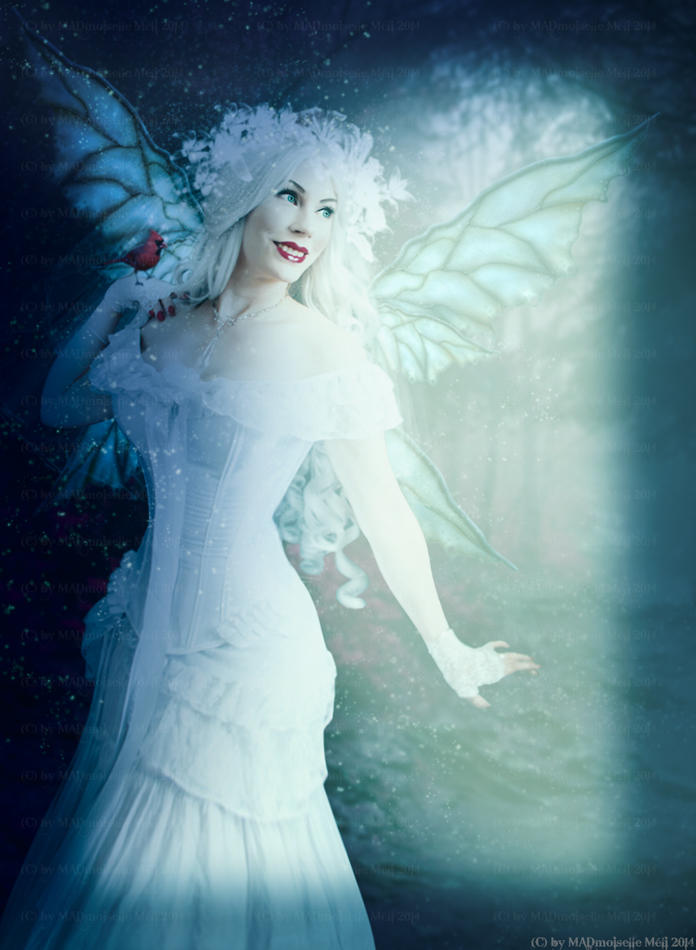 The White Fairy by MADmoiselleMeli