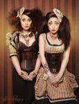 Steampunk Dolls by MeliWallisdottir