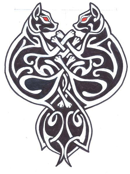Celtic Cats By Meliwallisdottir On