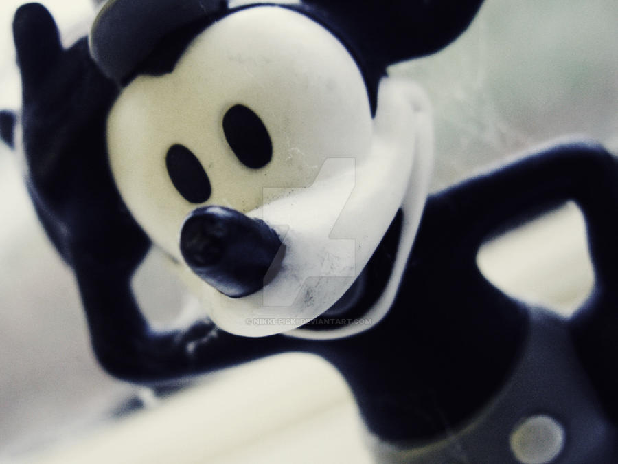 Mickey Mouse Toy by nikki-picki