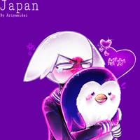 Countryhumans: Japan by Ariyamidai