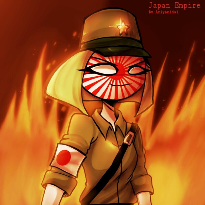 Countryhumans : Japan Empire by Ariyamidai