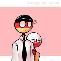 Countryhumans : Germany x Poland by Ariyamidai