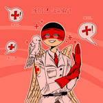 Countryhumans: Germany as Medic ~