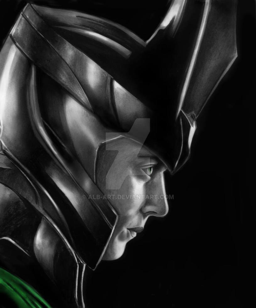 Loki of Asgard by Alb-art