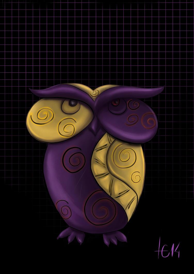 Corujinha owl by LucasConegundes