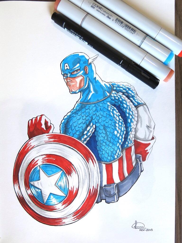 Cap. America by LucasConegundes