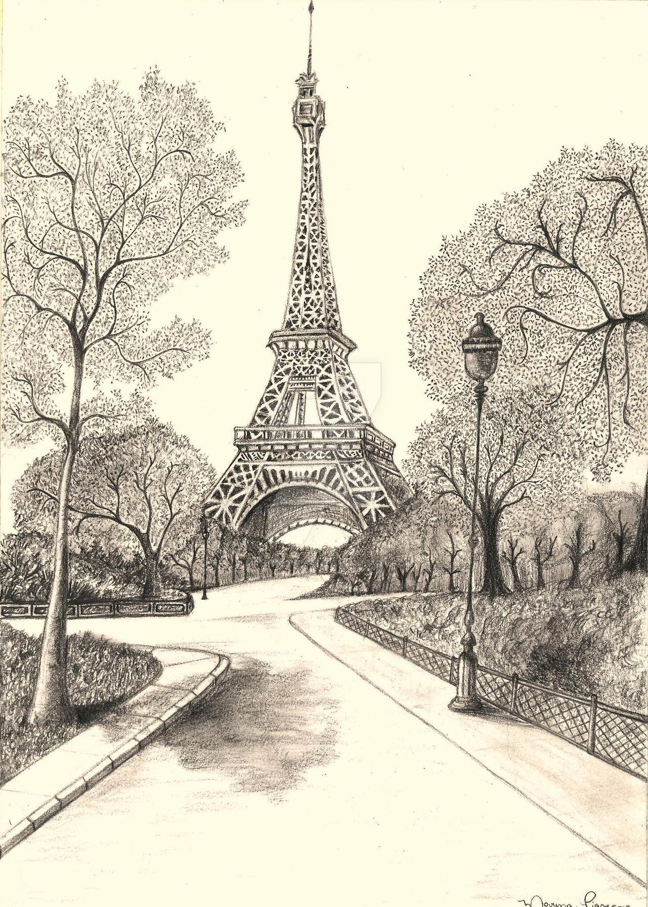 Amazoncom Paris Notebook Vintage Eiffel Tower Journal