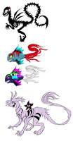 Some viruses as their represented animals by Jeyawue