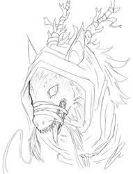 [$] Dragon sketch by Jeyawue