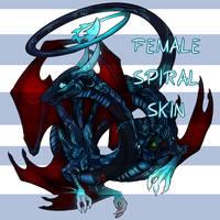 Artifical Intelligence - F Spiral Skin by Jeyawue