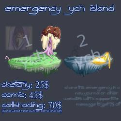 Emergency YCH island slots by Jeyawue