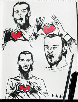 Gareth Bale Sketch