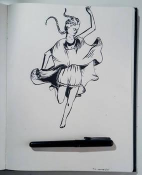 Jump (InkTober 10th)