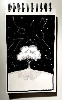 Tree (Inktober 14th, 2016)