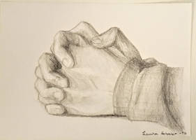 folded hands