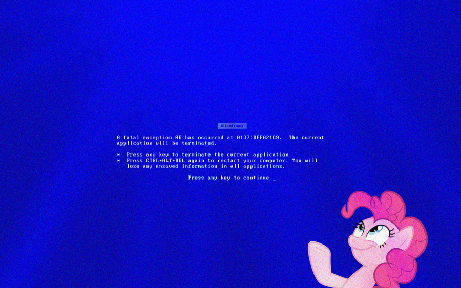 Behold, The Glorious BSOD By Travischan03 ... Great Ideas